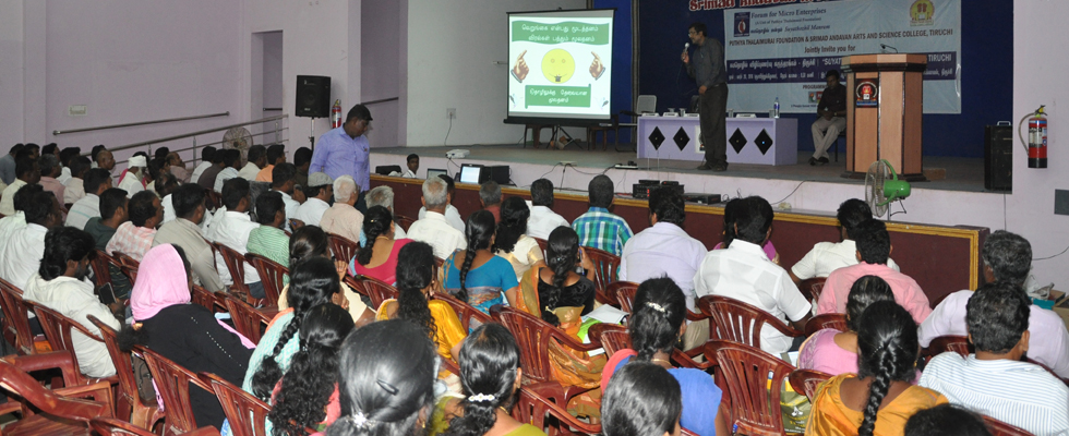 SUYATHOZHIL AWARENESS SEMINAR -  TIRUCHI - 20.3.2016