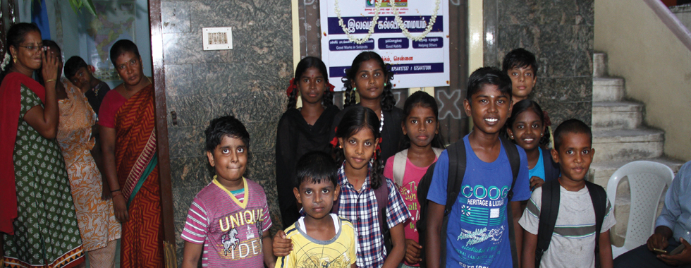 FREE TUITION CENTRE INAUGURATION - CHENNAI