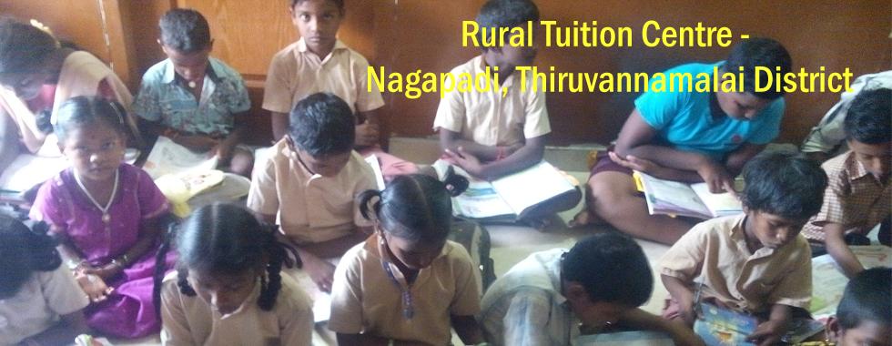 RURAL TUITION CENTRE - NAGAPADI, THIRUVANNAMALAI DISTRICT
