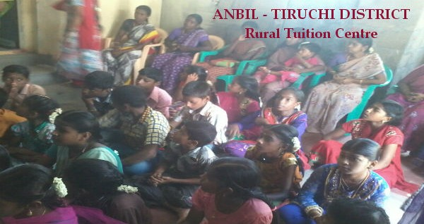 Anbil Rural Tuition Centre - Tiruchi District