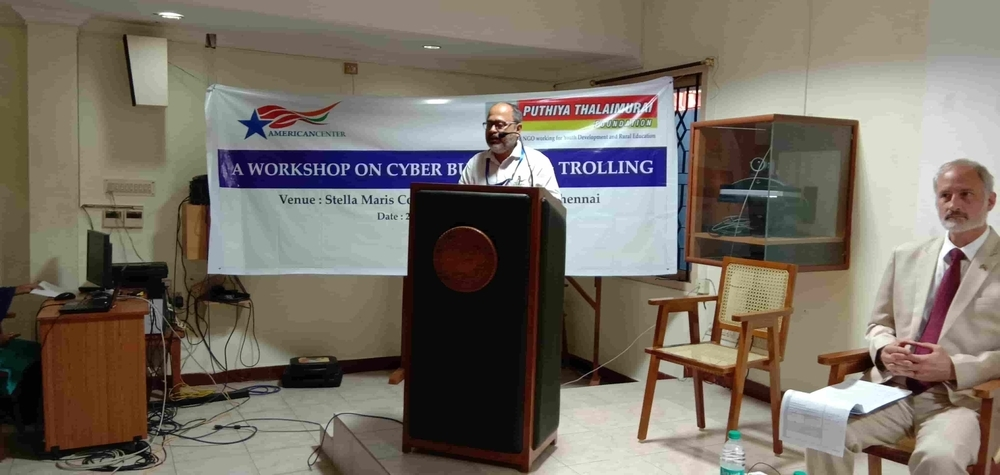 Workshop on Countering Cyber Bullying(Chennai – 25.09 (10)