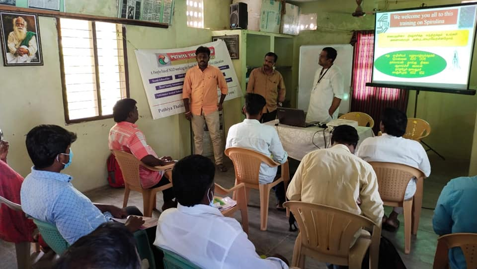 Training Camp on Spirulina Cultivation (24)