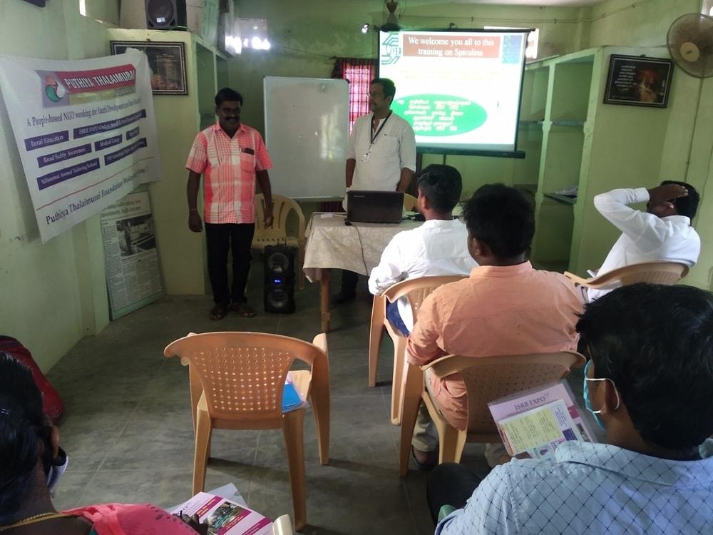 Training Camp on Spirulina Cultivation